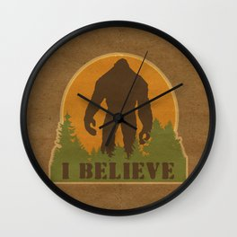 Bigfoot - I believe Wall Clock