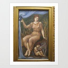 Edward Burne-Jones - Earth Mother Art Print
