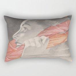Can You Hear Me Now Rectangular Pillow