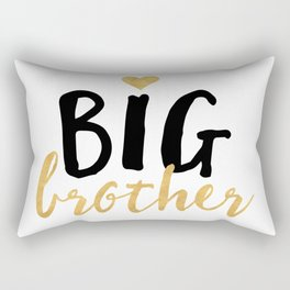 BIG BROTHER sibling love quote Rectangular Pillow