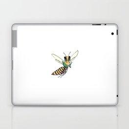 Book Reading Bee Laptop & iPad Skin