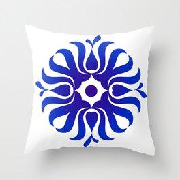 Mandala for the good communication Throw Pillow