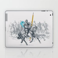The Mighty Pencil Knight Laptop & iPad Skin