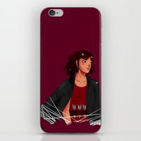 archer iPhone & iPod Skins featuring Archer by shirley