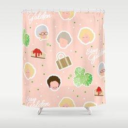 GG Pattern Cute Shower Curtain
