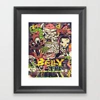 Belly of the beast Framed Art Print