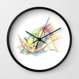 Authentic Self Expresion Wall Clock