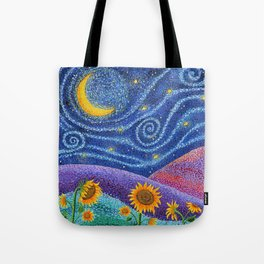 Dream Fields Tote Bag