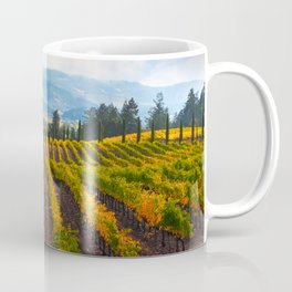 Autumn Vineyard Vista Coffee Mug