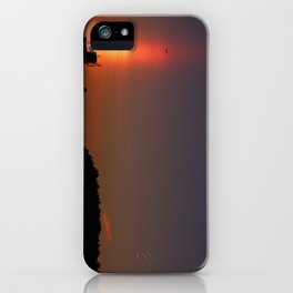 Sunset Torch iPhone Case