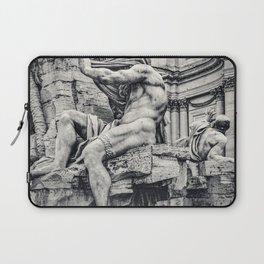Fontana dei Quattro Fiumi, Piazza Navona, Rome, Italy Laptop Sleeve