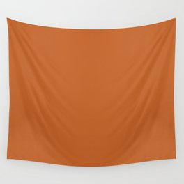 Pantone 17-1145 Autumn Maple Wall Tapestry