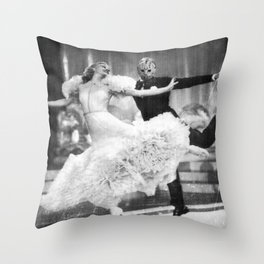 Jason Vorhees as Fred Astaire Throw Pillow
