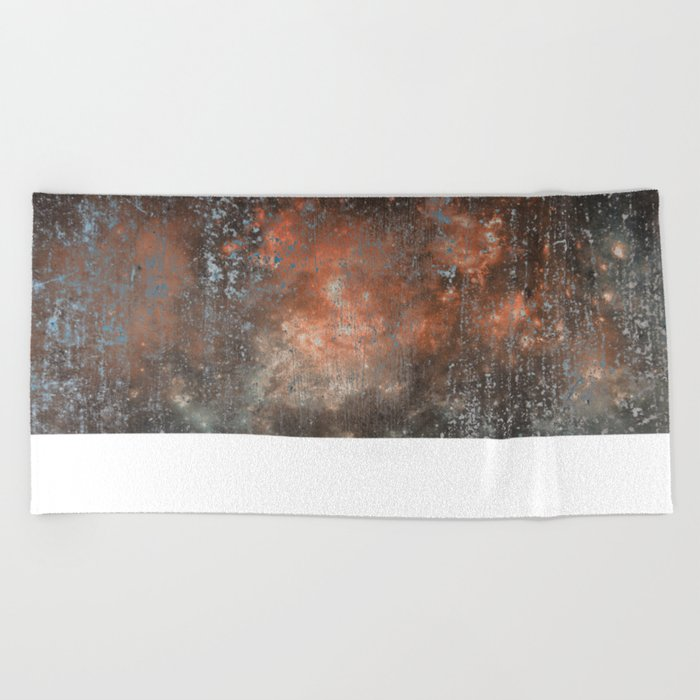 Fire beyond the Ashes Beach Towel