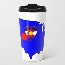 State of Colorado Travel Mug