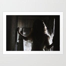 Tess Shadowed 2018 Art Print