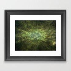 Dark Explosion Framed Art Print