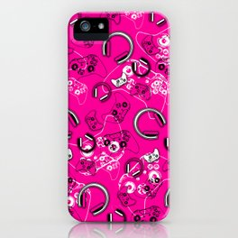 Gamers-Pink iPhone Case