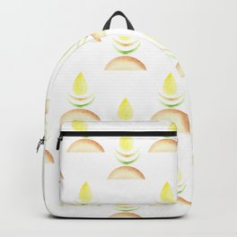 Soothing flame in neutral shades Backpack