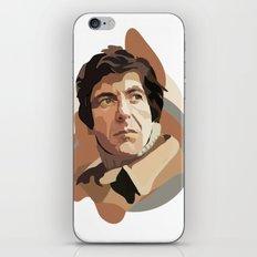 Leonard Cohen iPhone & iPod Skin