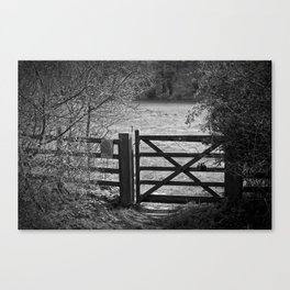 Gate To Bunkers Canvas Print