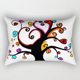 Love Blossoms - Spring burst Rectangular Pillow