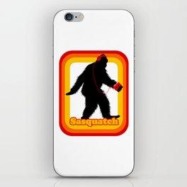 Retro Sasquatch iPhone Skin