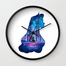 Princess Aurora Sleeping Beauty Wall Clock