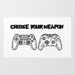 Choose your weapon Rug