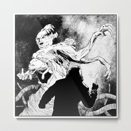 The Thing: MacReady Vs. The Blair Monster Metal Print