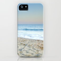 Blue waves at sunset Slim Case iPhone (5, 5s)