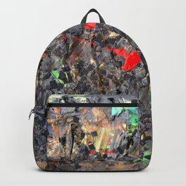 Hamlet Inspired Mixed Media Backpack