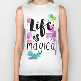 Life is Magical Biker Tank