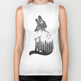 You Can't Take The Mountain Out of The Wolf Biker Tank