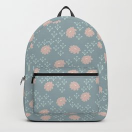 Yasmin: A Modern Floral Pattern Backpack