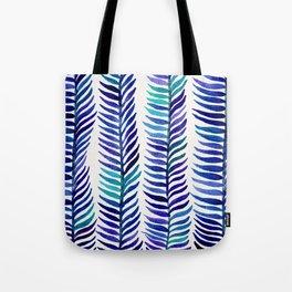Indigo Seaweed Tote Bag