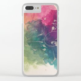 Colour carnival Clear iPhone Case