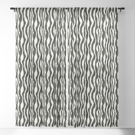 Zebra Sheer Curtain