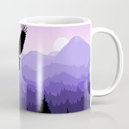 Eagle Skyline Coffee Mug