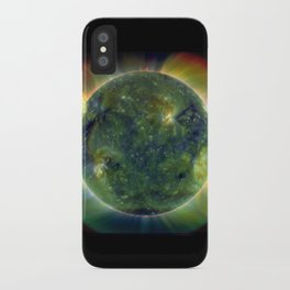 The SUN by Solar Dynamics Observatory satellite Print iPhone Case