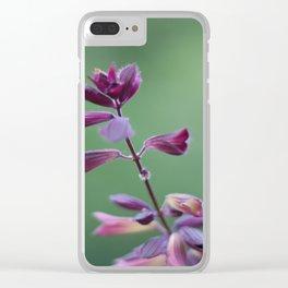 Salvia Clear iPhone Case