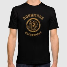 Rushmore Beekeepers Society Black X-LARGE Mens Fitted Tee