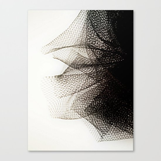 Tulle Canvas Print
