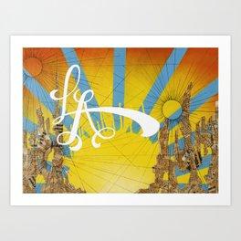 LA Dreams Art Print