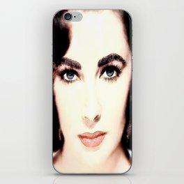 Elizabeth Taylor Face iPhone Skin