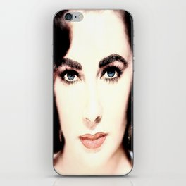 Elizabeth Taylor Face iPhone Skin