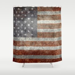 Old Glory, The Star Spangled Banner Shower Curtain