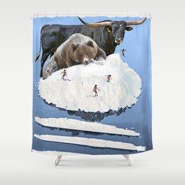 Powder Day Shower Curtain
