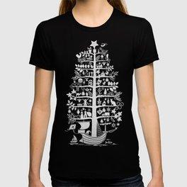 CHRISTMAS TREE white ITINERANT T-shirt