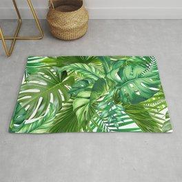 green tropic Rug